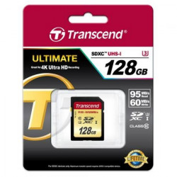SDXC 128GB SD geheugenkaart UHS-I U3
