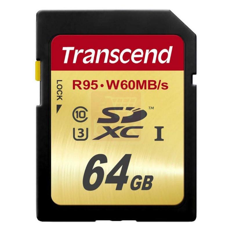 SDXC 64GB Tarjeta de memoria SD UHS-I U3