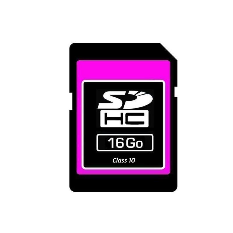 SDHC geheugenkaart 16 GB - Class 10