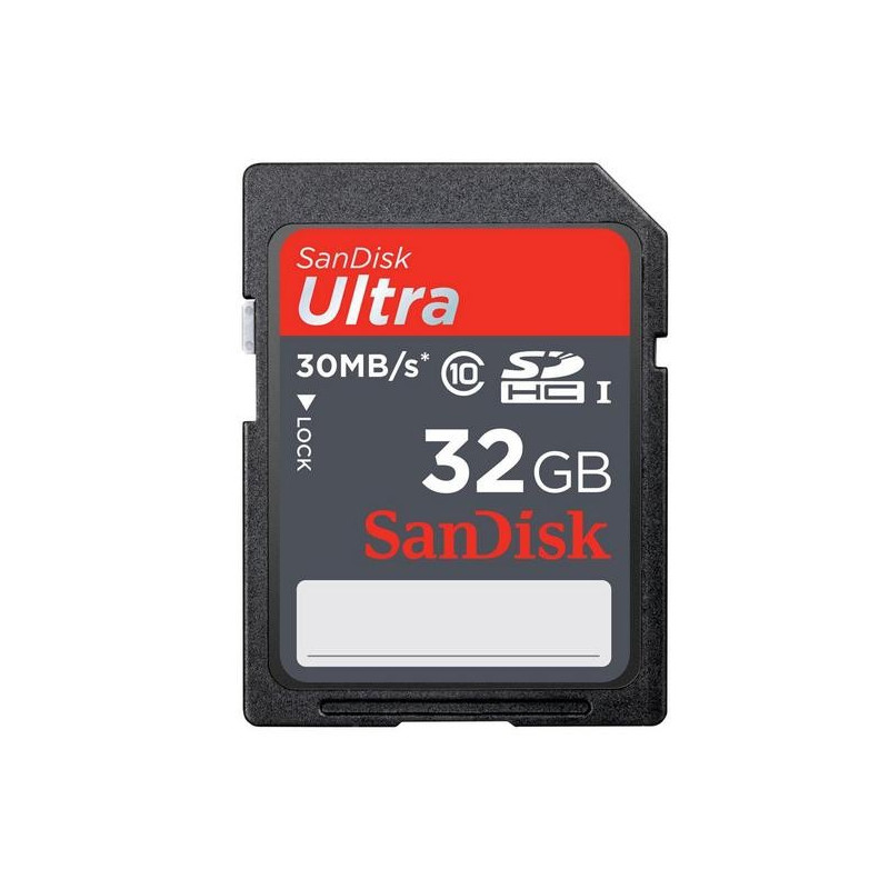 SANDISK SDHC geheugenkaart Ultra 32 GB - Class 10